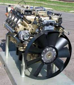 Сколько весит двигатель Камаза