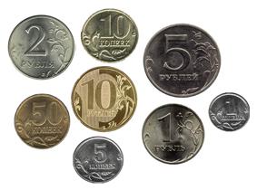 Вес российских монет