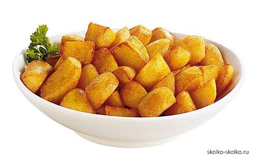Сколько калорий в отварном картофеле